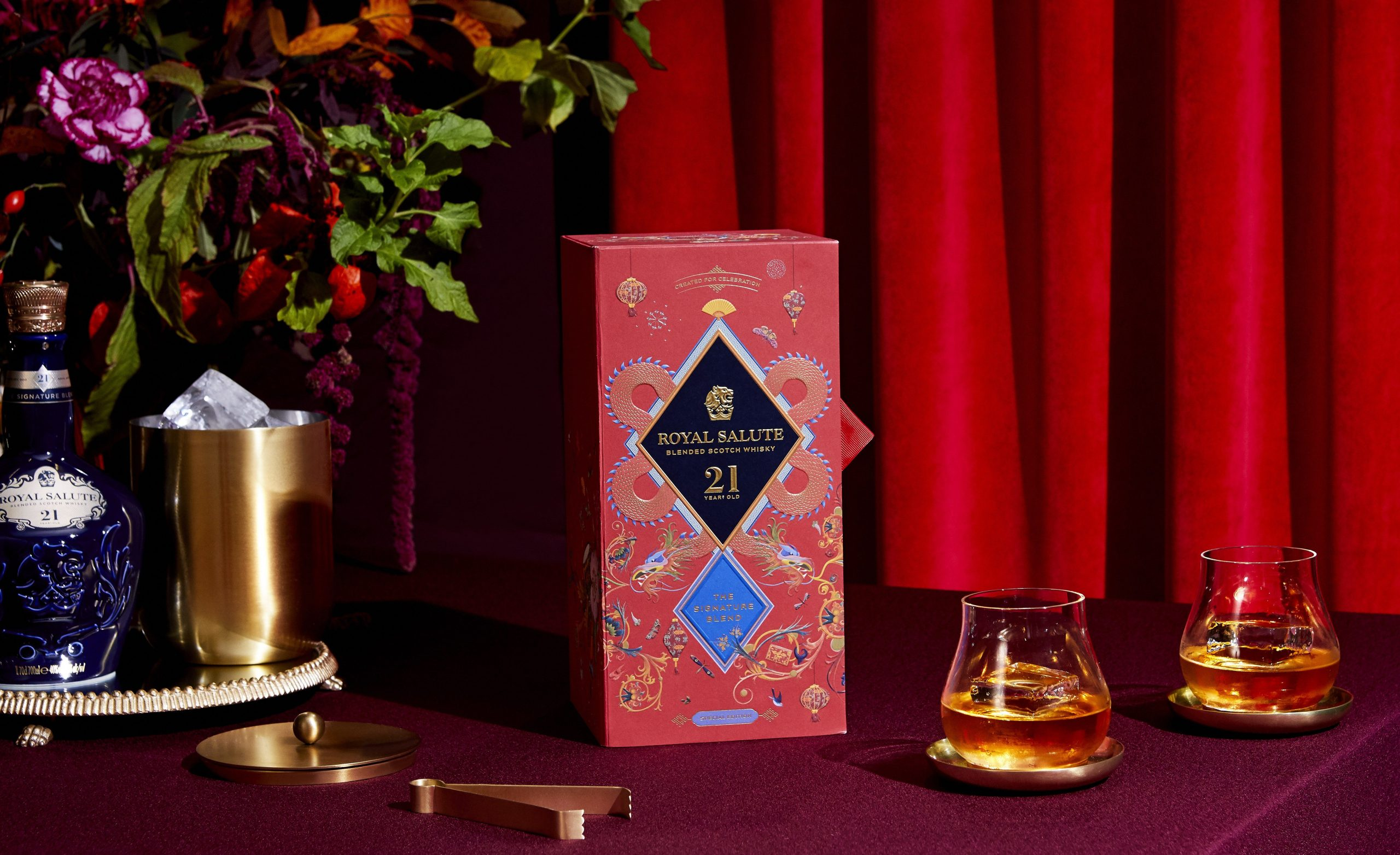 Royal Salute Blended Scotch Whisky Chinese New Year Edition