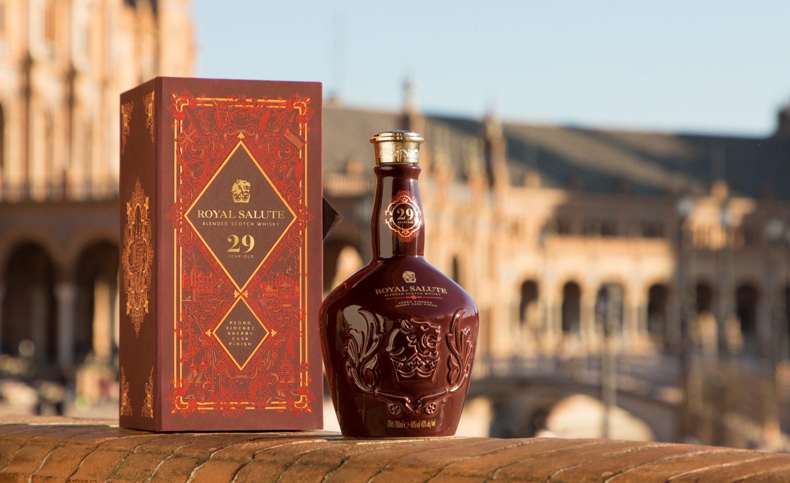 Royal Salute Blended Scotch Whisky Pedro Ximénez Sherry Cask Finish