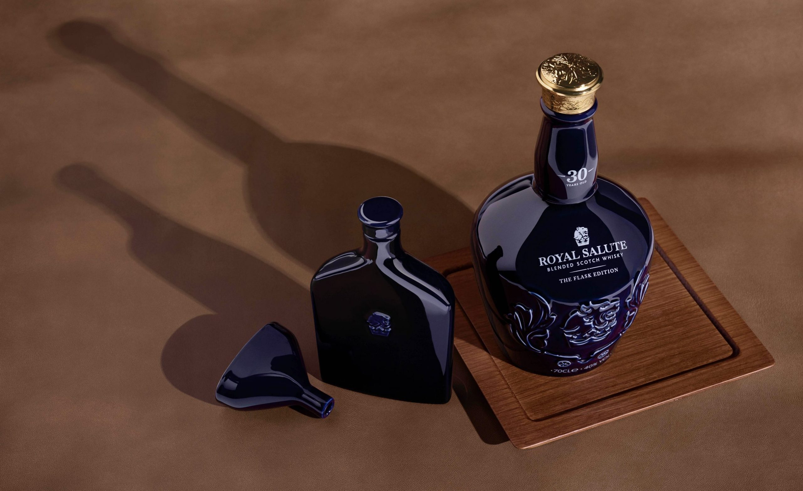 Royal Salute Blended Scotch Whisky The Flask Edition