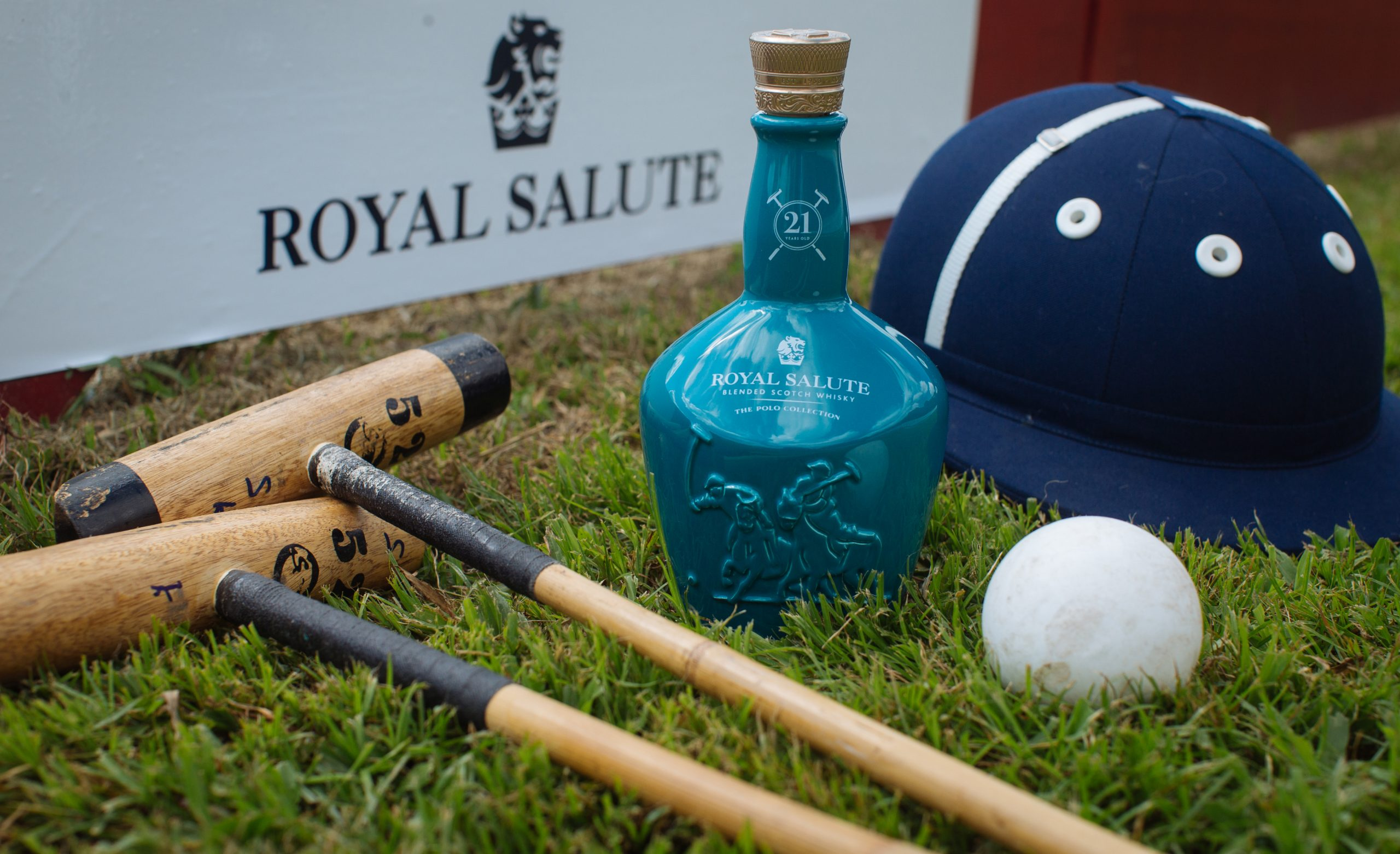 Royal Salute Blended Scotch Whisky The Polo Edition