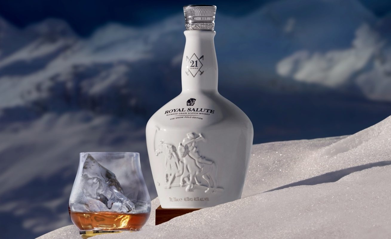 Royal Salute Blended Grain Whisky Snow Polo Edition